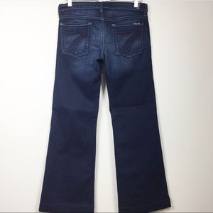 7 For All Mankind Dojo Jeans dark wash Sz 31